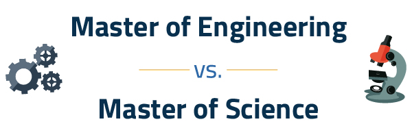 Master of Engineering vs Master of Science