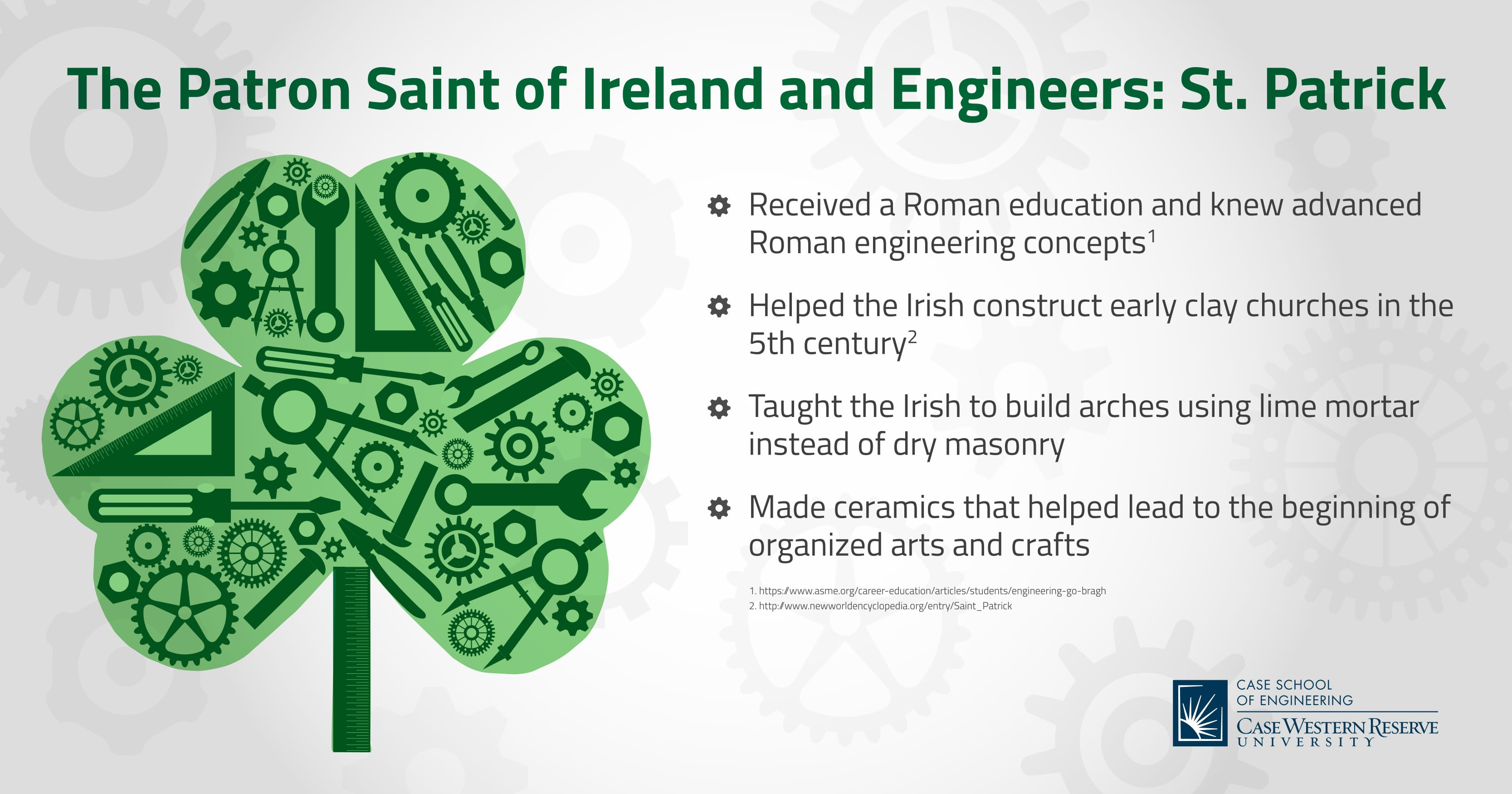 The Patron Saint of Ireland and Engineers: St. Patrick