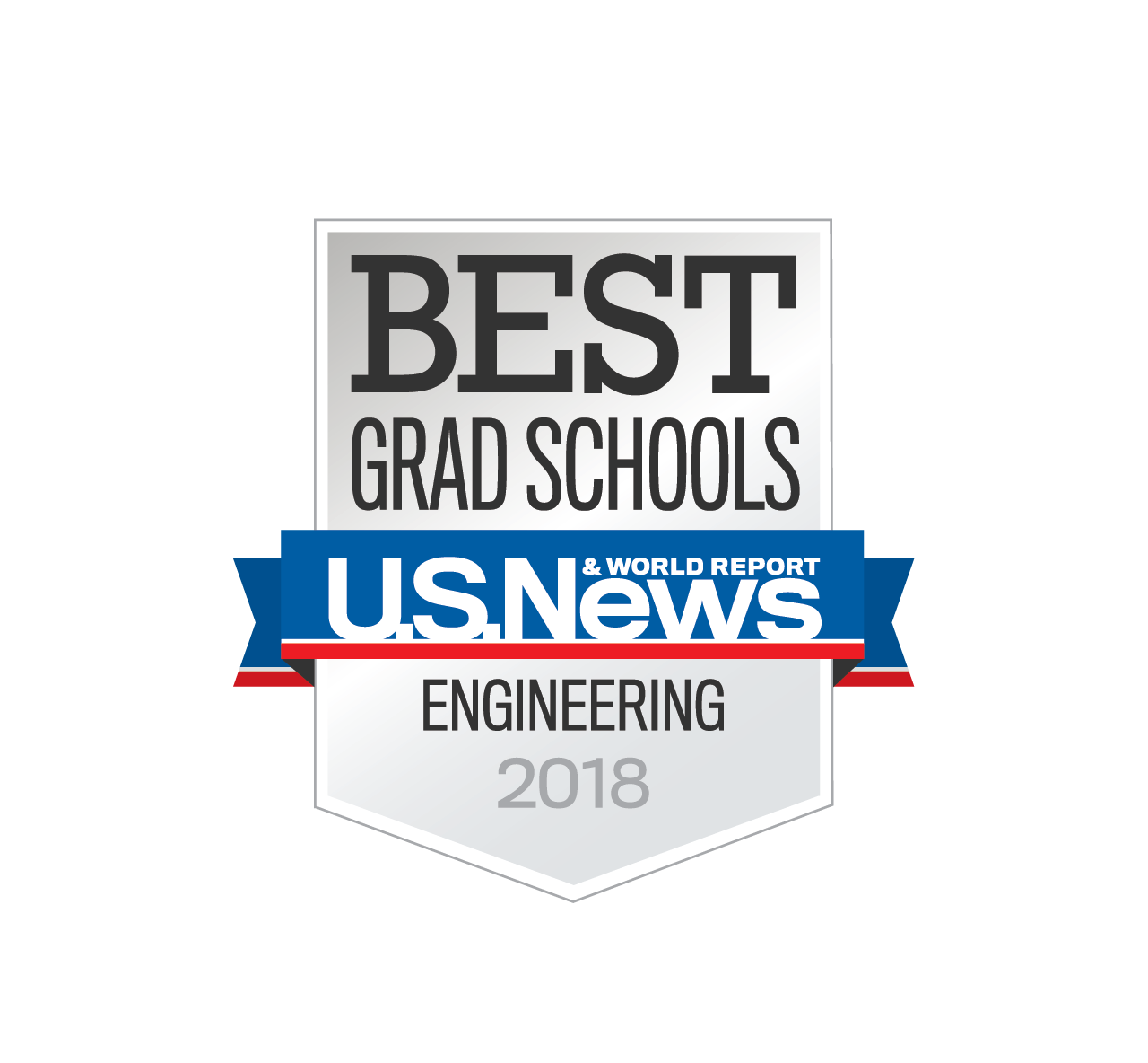 US News badge - Best Grad Schools - Engineering 2018